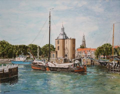 Harbour of Enkhuizen.