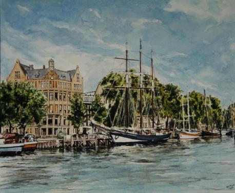 Veerharbour, Port of Rotterdam.