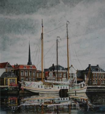 Harbour of Lemmer.